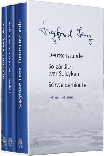 Siegfried Lenz. »Deutschstunde«, »So zärtlich war Suleyken«, »Schweigeminute«.