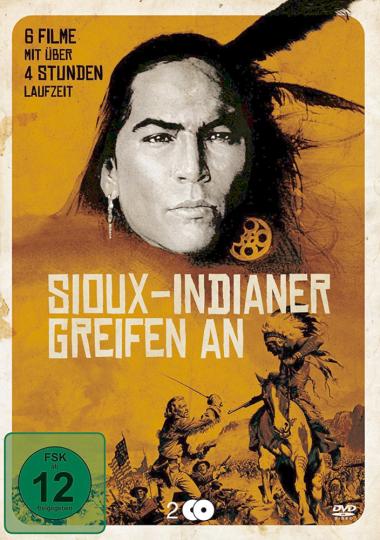 Sioux-Indianer greifen an. 2 DVDs.