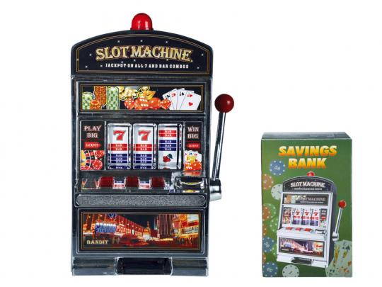 Spardose Spielautomat.