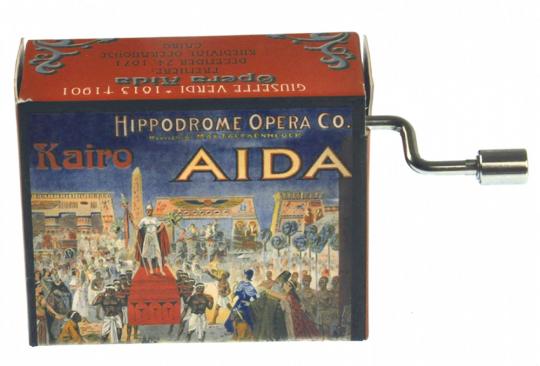 Spieluhr »Aida«.