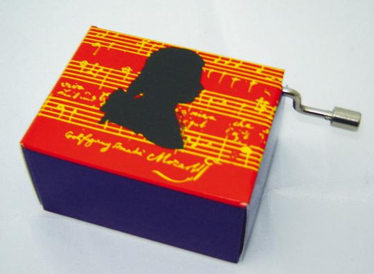Spieluhr »Mozart«.