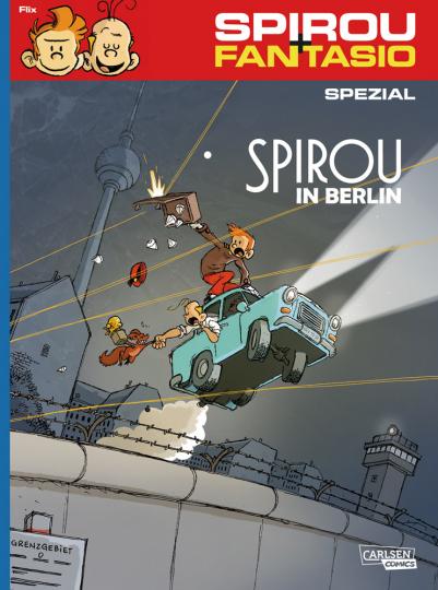 Spirou und Fantasio Spezial Nr. 31. Spirou in Berlin.