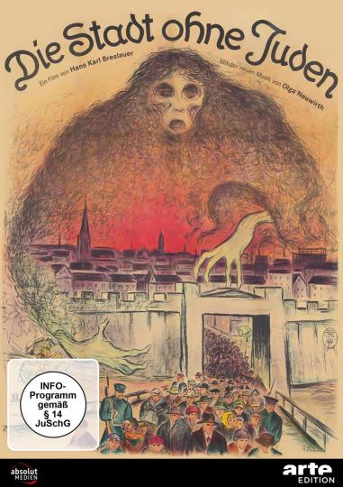 Die Stadt ohne Juden (1924). DVD.