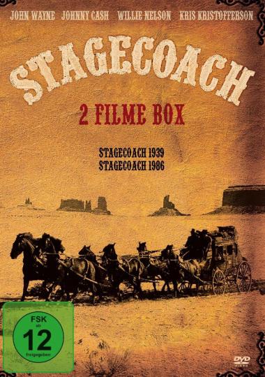 Stagecoach (1939 und 1986). DVD.