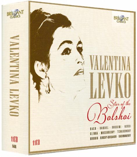 Star des Bolshoi Theaters 11 CDs