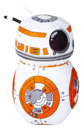 Star Wars - Droide BB-8. Plüschfigur.