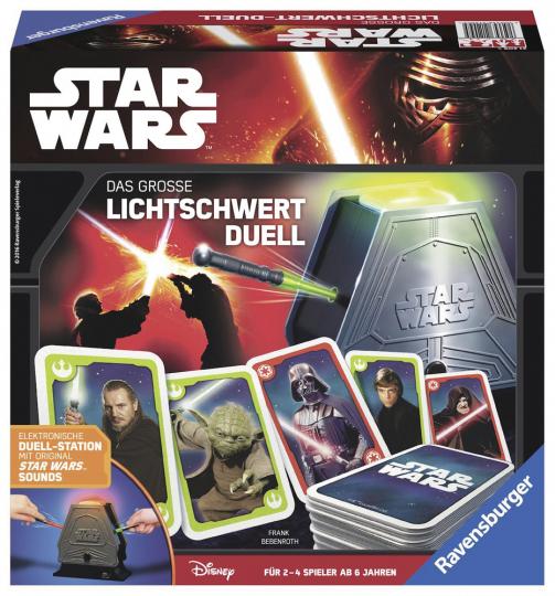Star Wars. Das große Lichtschwert Duell.