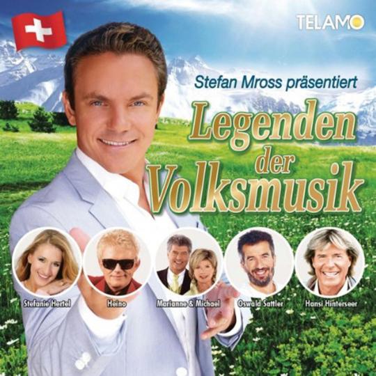 Stefan Mross präsentiert Legenden der Volksmusik. 2 CDs.