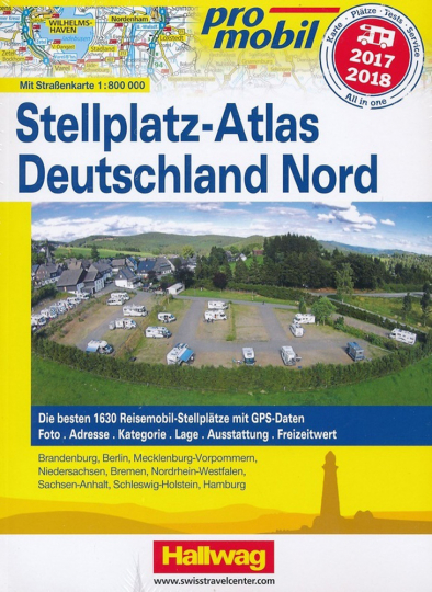 Stellplatz-Atlas Deutschland Nord 2017/2018