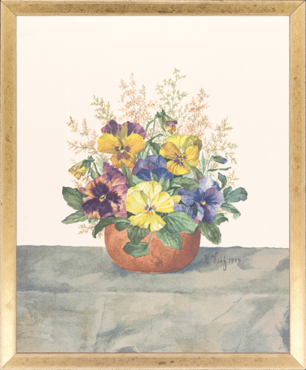 Stiefmütterchen. Karl Dietz (1883-1963).