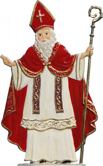 St. Nikolaus. Weihnachtsfigur.