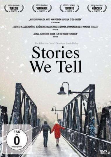 Stories We Tell. DVD.
