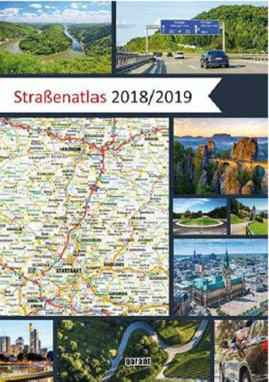 Straßenatlas Deutschland / Europa 2018/2019