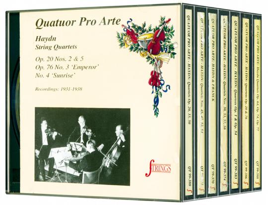 String Quartets 7 CDs