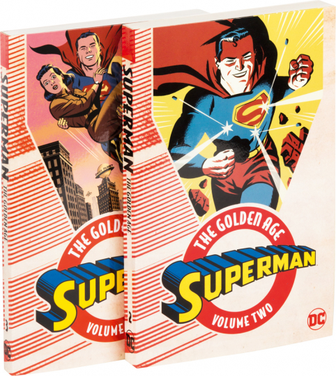 Superman Set. The Golden Age Vol. 2 und Vol. 3.