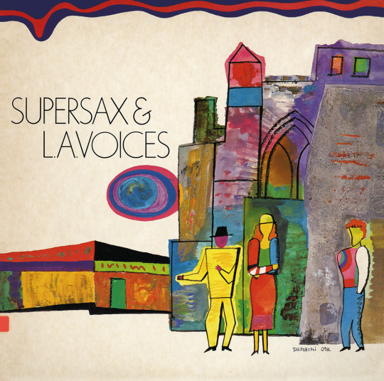 Supersax & L.A. Voices. CD.