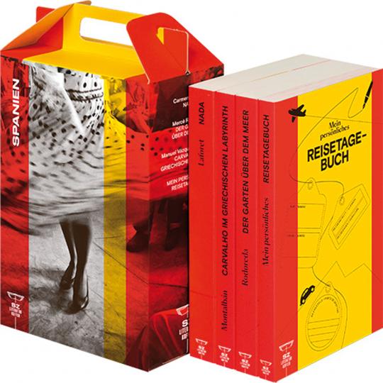 SZ Literaturkoffer Spanien - Literatur für Ihren Urlaub.