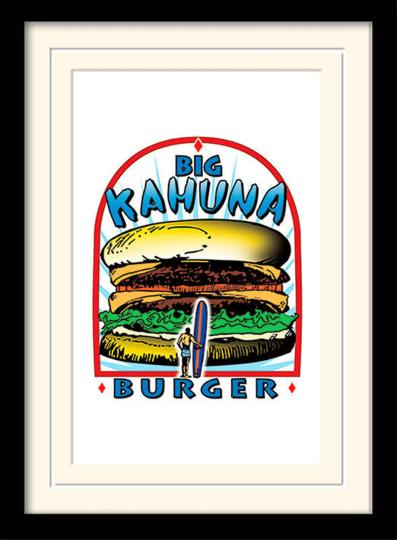 Tarantino - »Big Kahuna Burger«, Kunstdruck.