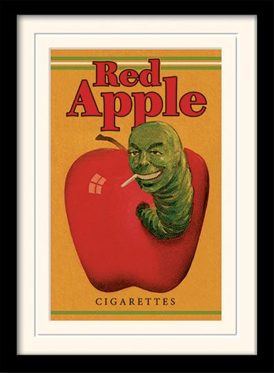 Tarantino - »Red Apple Cigarettes«, Kunstdruck.