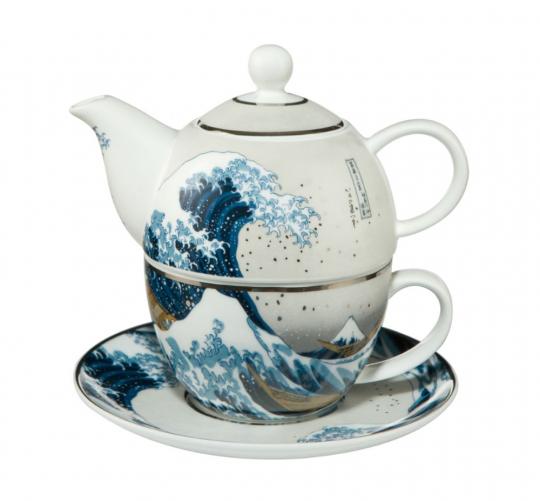 Teekanne Hokusai.