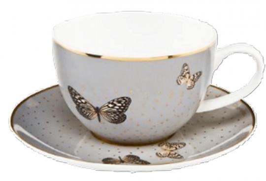 Teetasse »Helle Schmetterlinge«.
