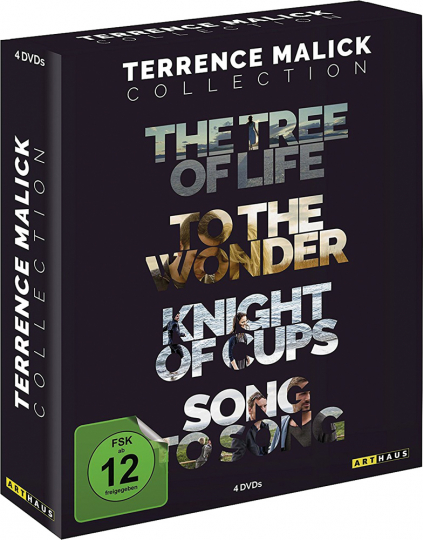 Terrence Malick Collection. 4 DVDs.