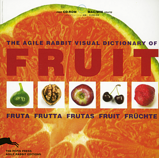 The Agile Rabbit Visual Dictionary of Fruits (Buch + CD-ROM)