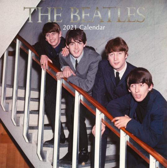The Beatles. Wandkalender 2021.