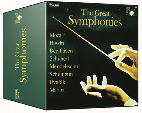 The great Symphonies, 24 CDs