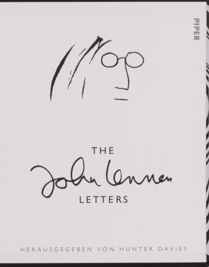 The John Lennon Letters. Luxusausgabe.