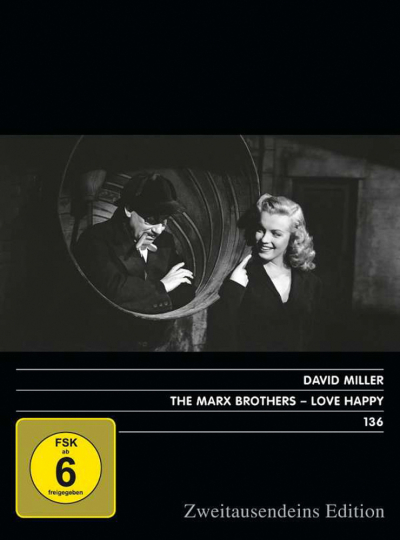 The Marx Brothers. Love Happy (OmU). DVD.