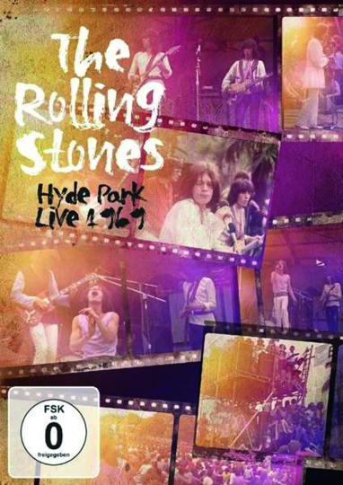The Rolling Stones. Hyde Park Live 1969. DVD.
