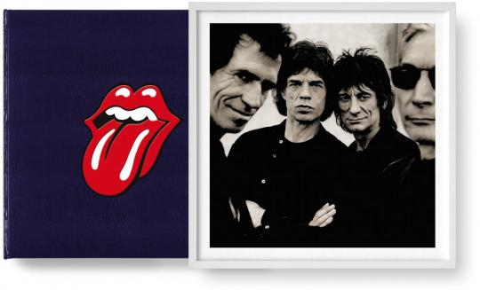 The Rollings Stones. Art Edition. Mit Original-Print »Like a Rolling Stone« von Anton Corbijn.