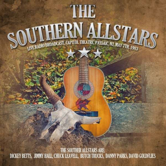 The Southern Allstars. Live Radio Broadcast Passaic 1983. 1 CD.
