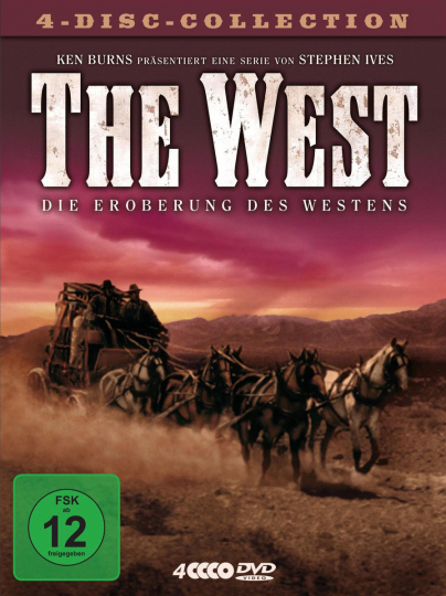 The West. 4 DVDs.