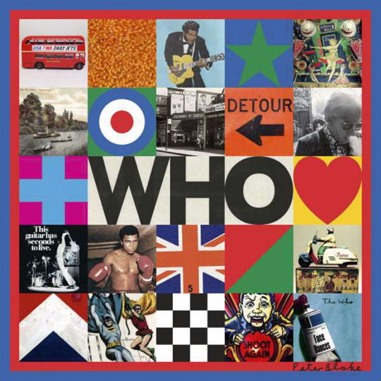 The Who. Who. CD.