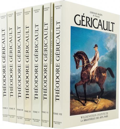 Théodore Géricault. Étude Critique, Documents und Catalogue Raisonné. 7 Bände.