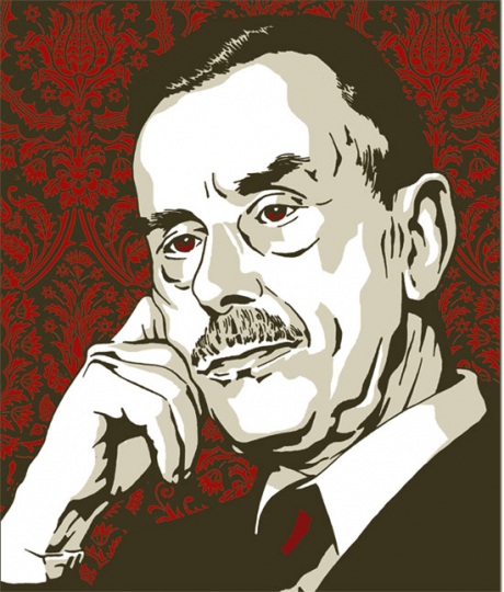 Thomas Mann. Mario und der Zauberer. Ein tragisches Reiseerlebnis. Vorzugsausgabe.