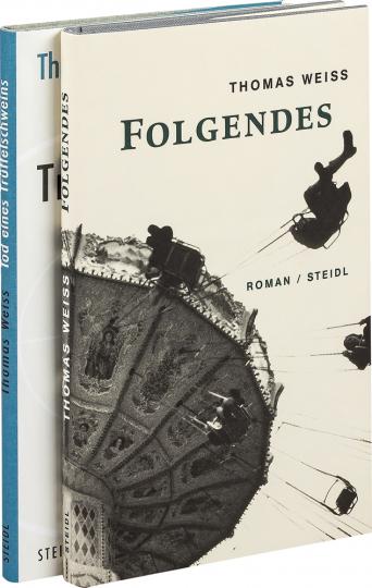 Thomas Weiss. Folgendes & Tod eines Trüffelschweins. 2 Bände im Paket.