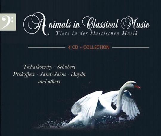 Tiere in der klassischen Musik 4 CDs