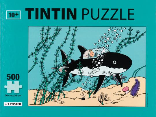 Tim und Struppi-Puzzle »Submarine«.
