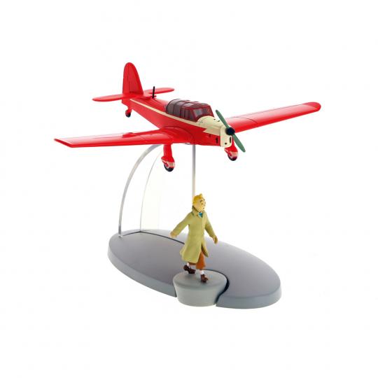 Tim und Struppi »Red Counterfeiter's Plane«, rotes Flugzeug.