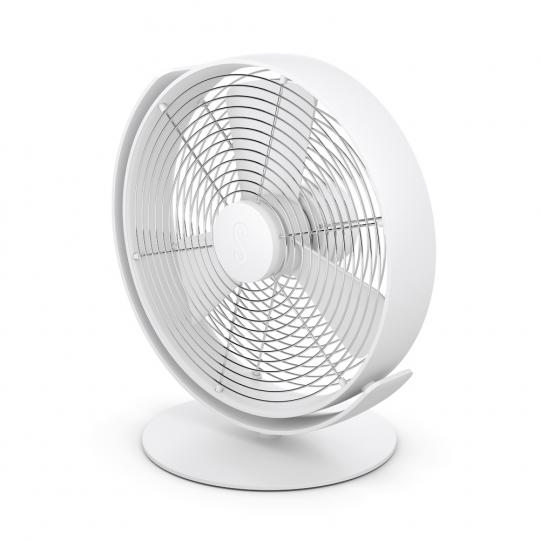 Tisch-Ventilator »Tim«, weiß.