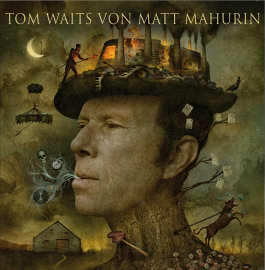 Tom Waits von Matt Mahurin.