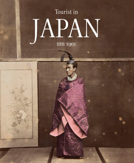 Tourist in Japan um 1900.
