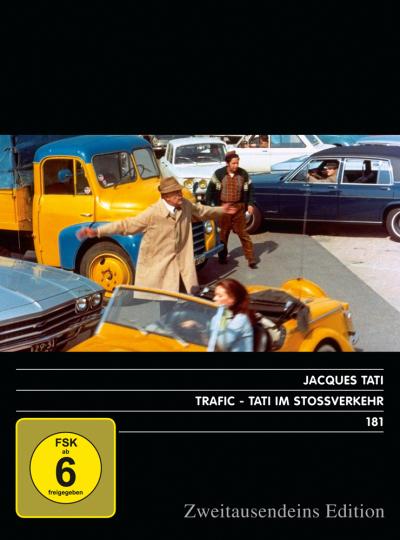 Trafic. Tati im Stossverkehr. DVD.
