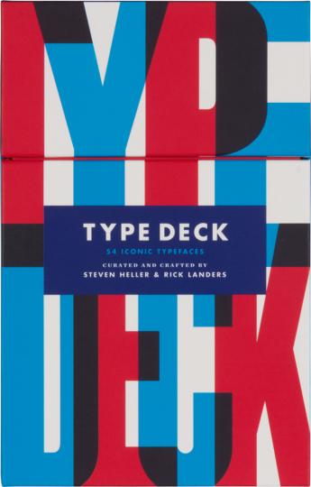 Type Deck. Eine Sammlung ikonischer Schriften.