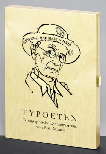 Typoeten. Typografische Dichterportraits.