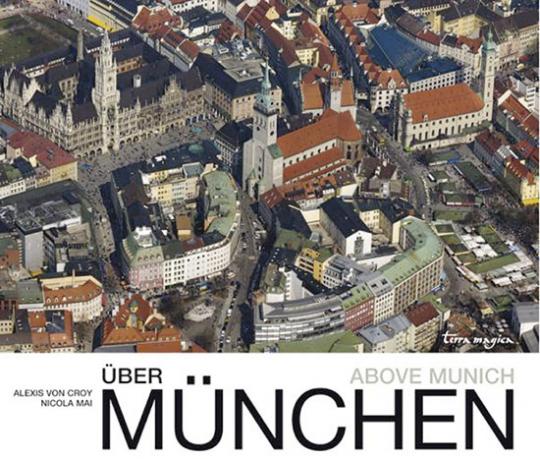 Über München - Above Munich.