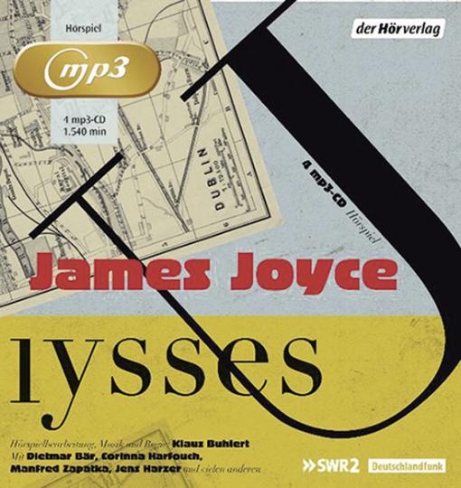 Ulysses. 4 mp3 CDs.